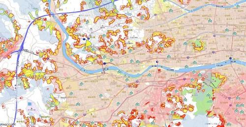 高知市河川浸水想定区域