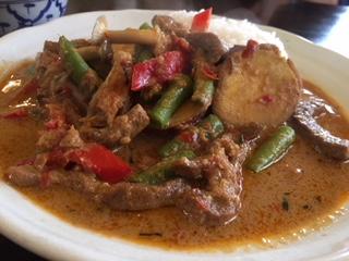 アジアン料理「バーンプアン」レッドカレー
