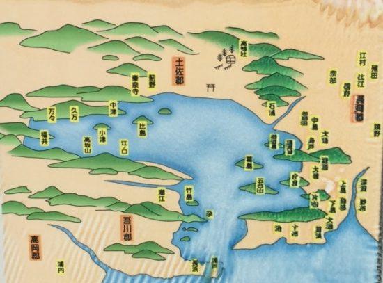 高知古代地図