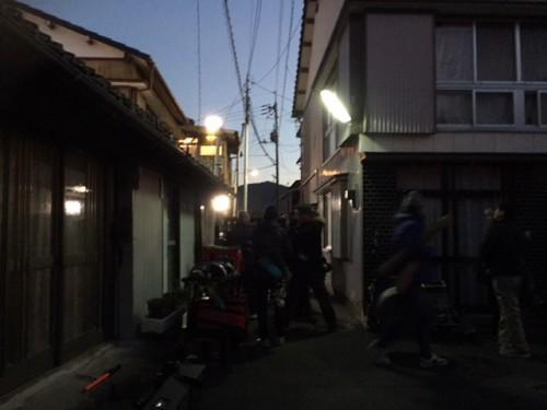 高知市鏡川町 映画撮影終了