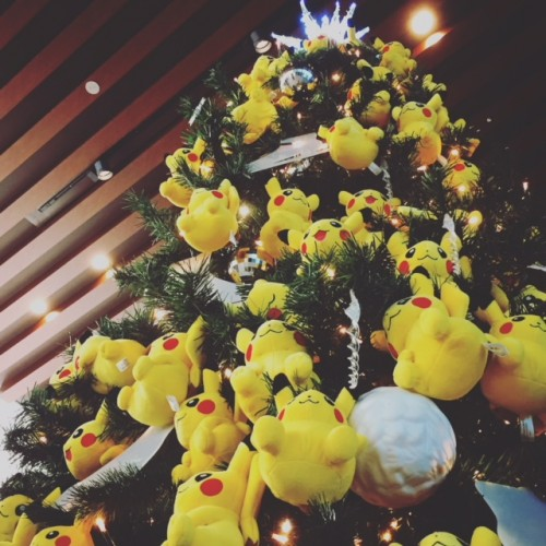 ピカチュウ クリスマスツリー