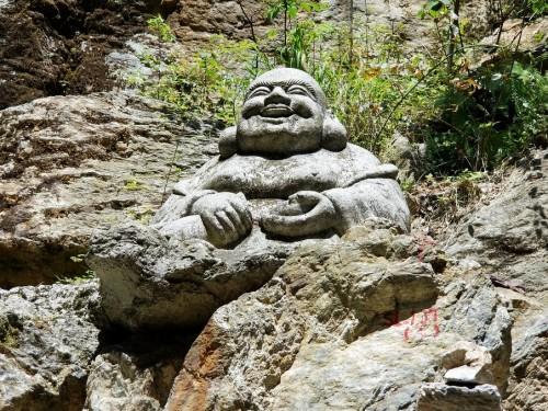 中津渓谷 七福神
