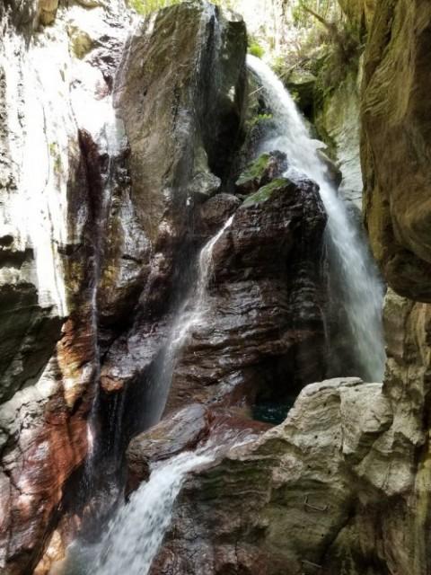 中津渓谷 雨竜の滝