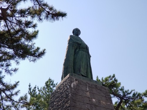 高知 桂浜 龍馬像