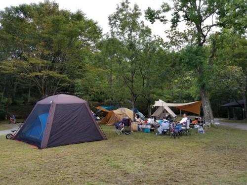 甫喜ヶ峰キャンプ場