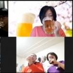 1竹村会オンライン飲み会乾杯